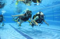 El Centro Deportivo Morales Sport celebra sus primeros bautismos de buceo