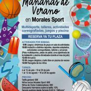 Mañanas de Verano 2016 en Morales Sport