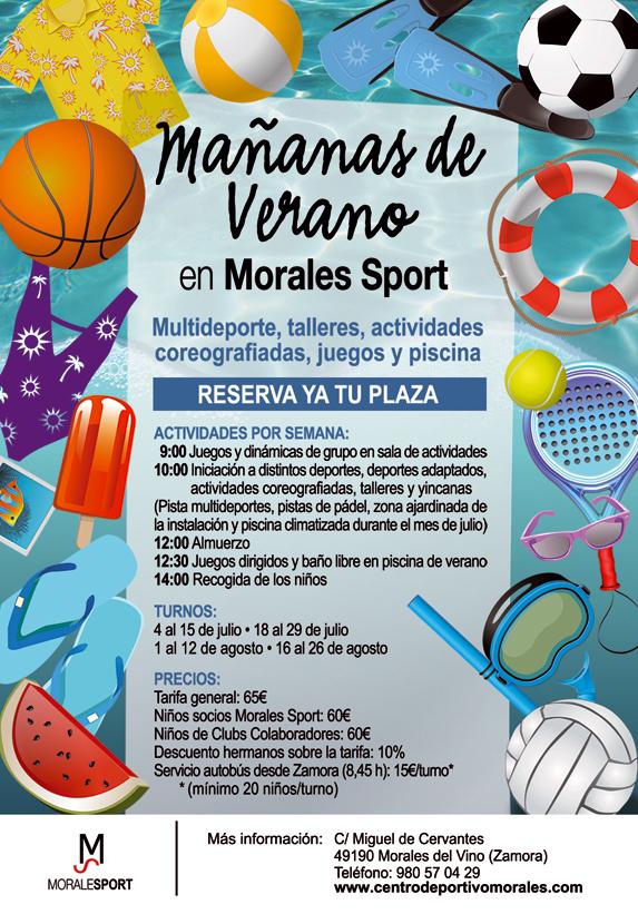Mañanas de Verano en Morales Sport